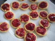 spitzbuben cookies with jelly filling