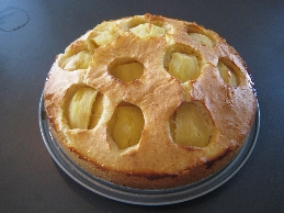 German Apple Cake Recipe - Versunkener Apfelkuechen - German Recipes